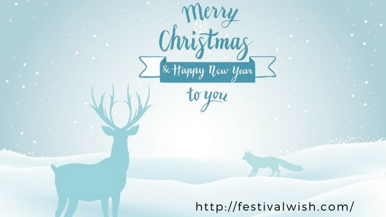 Merry Christmas & Happy New Year Quotes, Wishes, Greetings for 2018