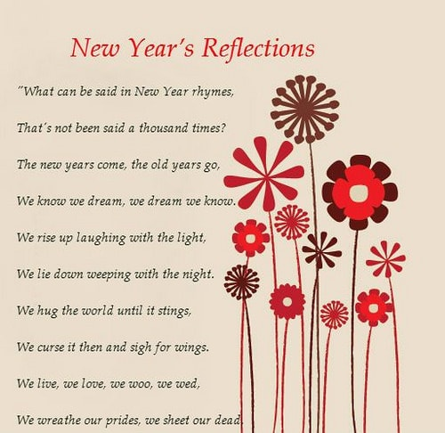 Happy New Year Poems for 2018