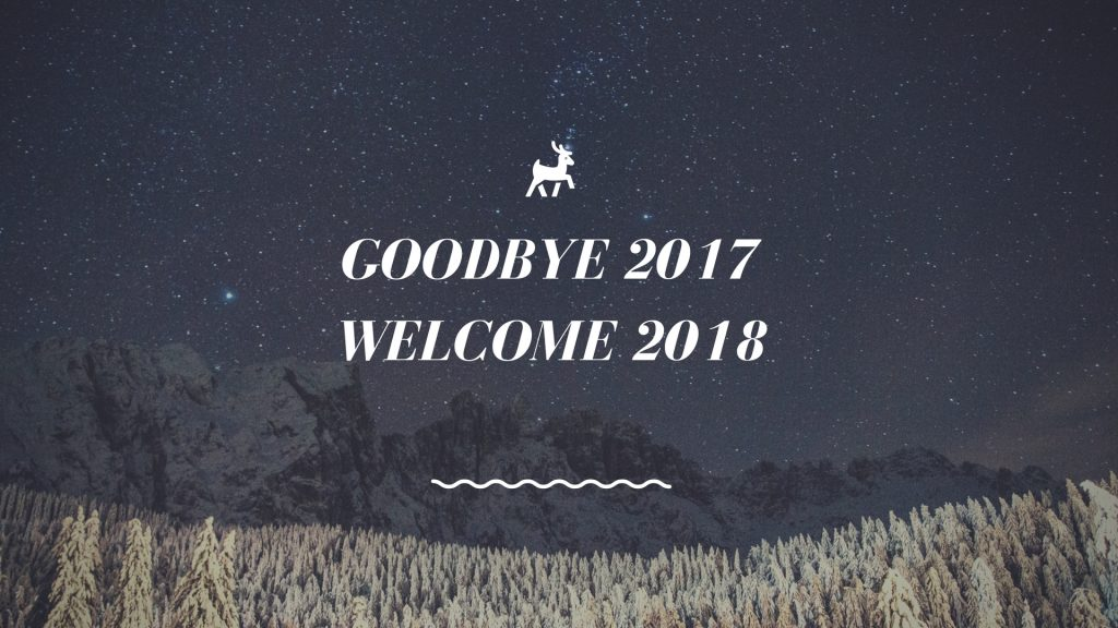 Good Bye 2017 Welcome 2018 WhatsApp Facebook Status Post Timeline