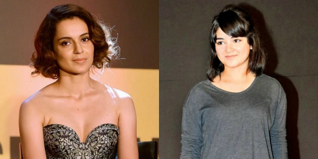 Kangana Ranaut speaks on Zaira Wasim Molestation Case