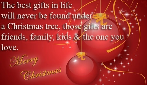 Merry Christmas Wishes Messages and SMS For Friends and Family