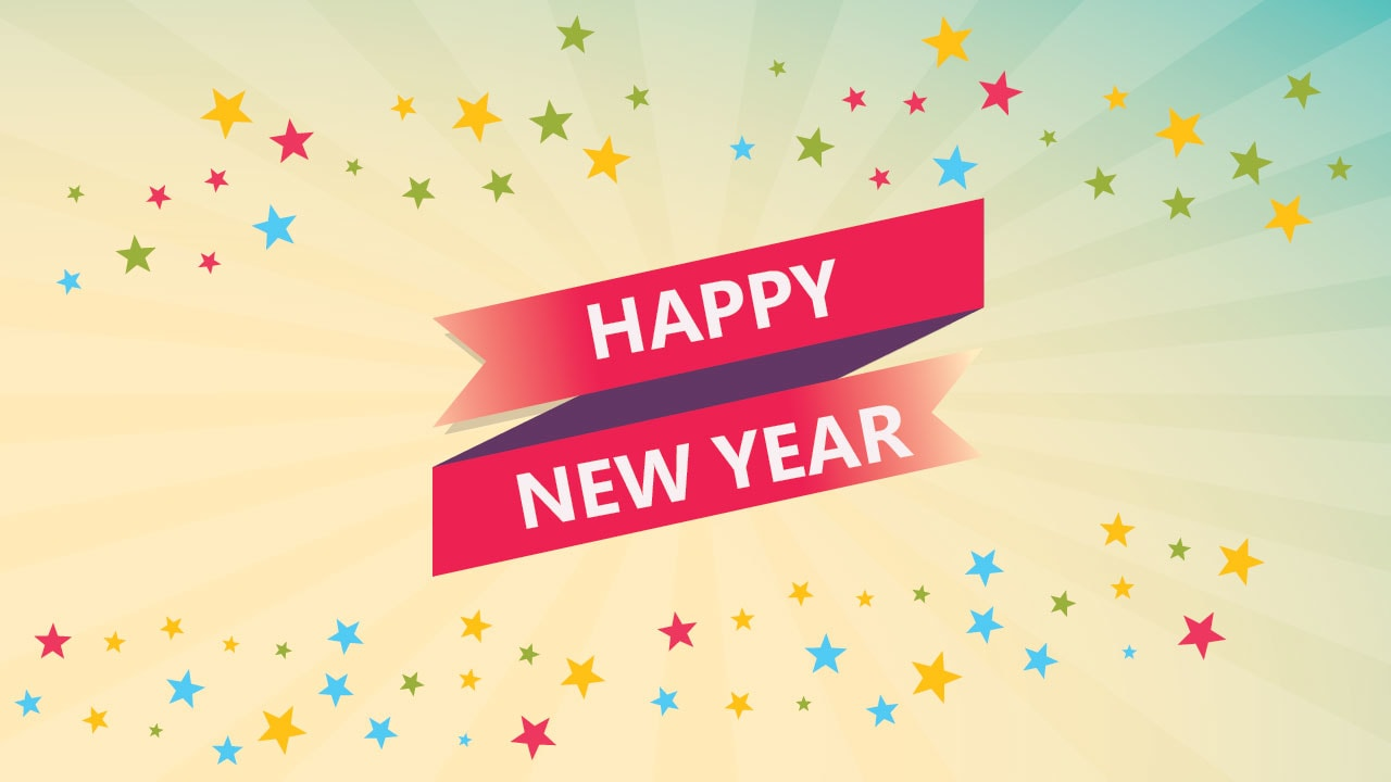happy new year whatsapp dp images HD 2018