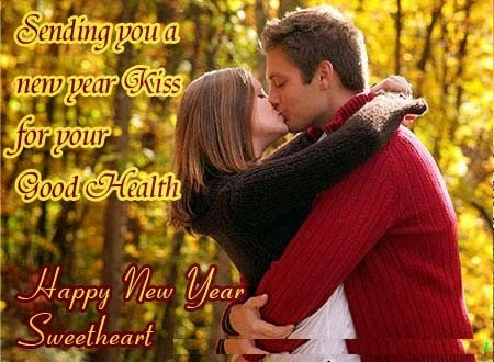 Happy New Year Wishes for Girlfriend for 2018