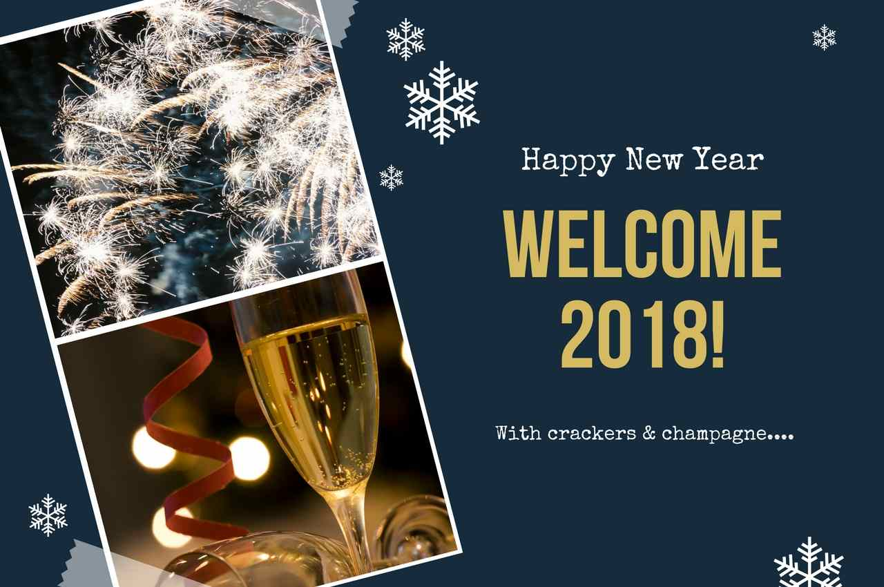Good Bye 2017 Welcome 2018 Wishes for Girlfriend|Wife|Boyfriend|Husband