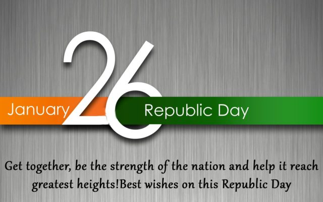 Happy Republic day wishes in Advance in Hindi 2018 | SMS | Messages