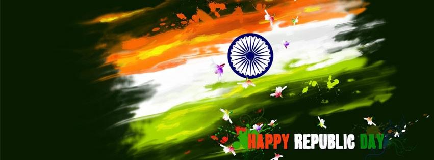 Republic Day Facebook Cover Photo