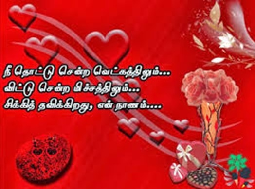 Valentines Day Messages For Wife In Tamil