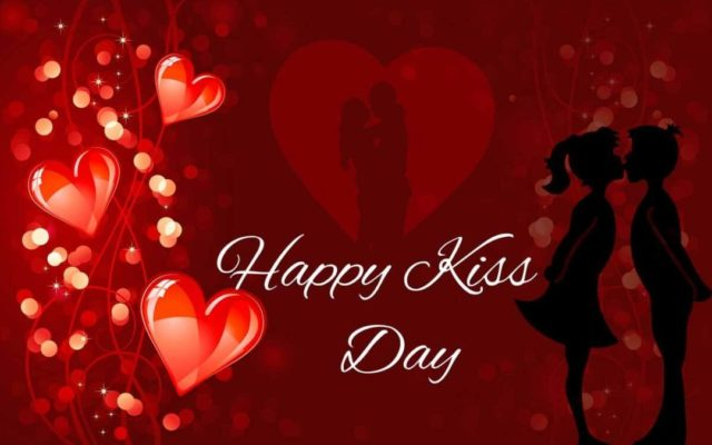 Happy Kiss Day Wallpapers for Girlfriend Boyfriend Wallpaper Download 2018