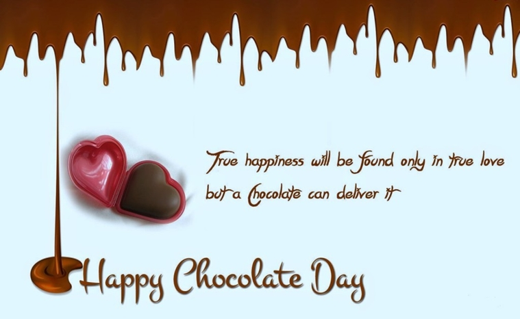 Happy Chocolate Day Two-line Shayari Status Wishes Messages Sms Lines for 2018
