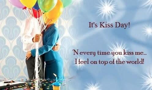 Happy Kiss Day Two Line Shayari in Hindi for Girlfriend |Wife| Romantic Love 2018