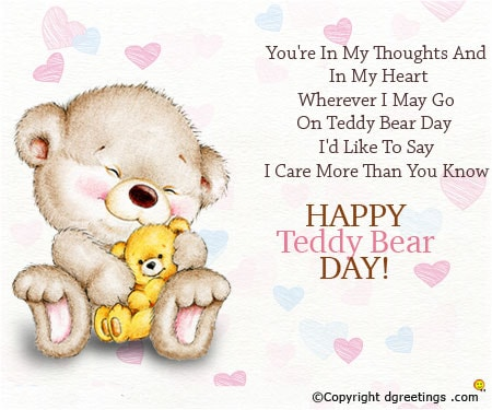 Happy Teddy Day Wishes for Girlfriend | SMS | Messages | Quotes | Status for 2018