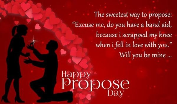 Happy Propose Day Images for Girlfriend for 2018