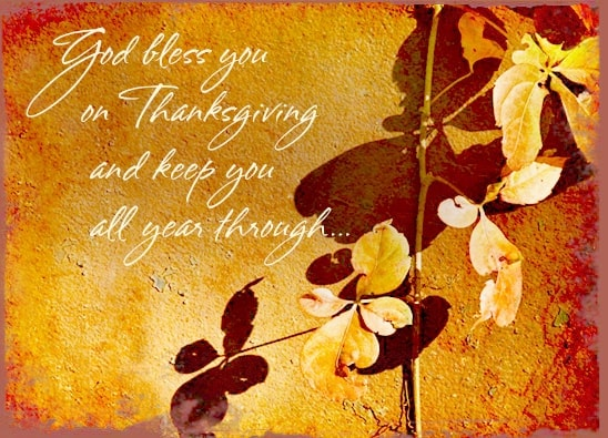 2017 Happy Thanksgiving Images for Whatsapp