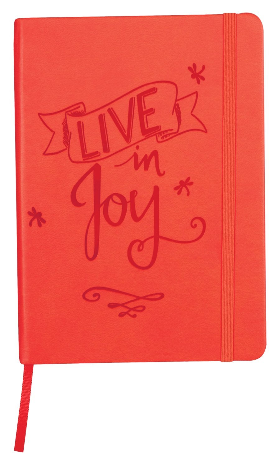 "Angelstar Joy Nature's Grace Rich Decorative Notebook, 5 x 7"", Orange"