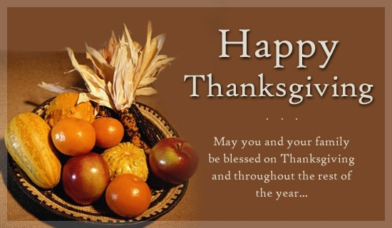 Best Happy Thanksgiving Images for Whatsapp