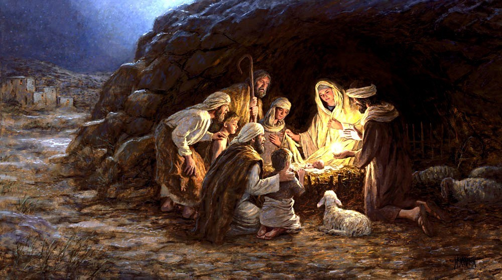 christmas birth of Jesus images