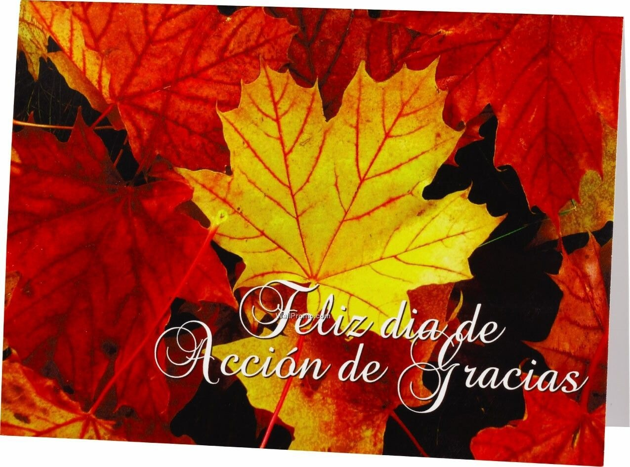 Thanksgiving Images in Spanish