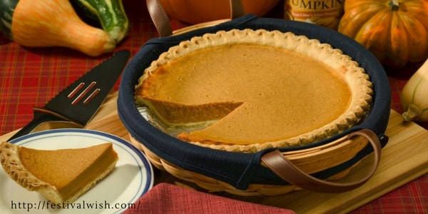 Pumpkin Pie | Company Thanksgiving Party Ideas