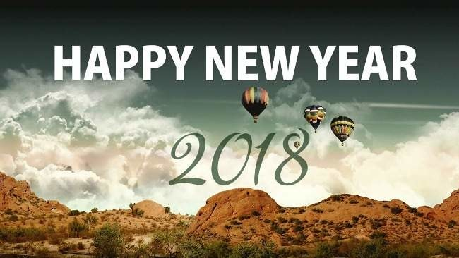 Happy New Year in Advance Wishes for 2018