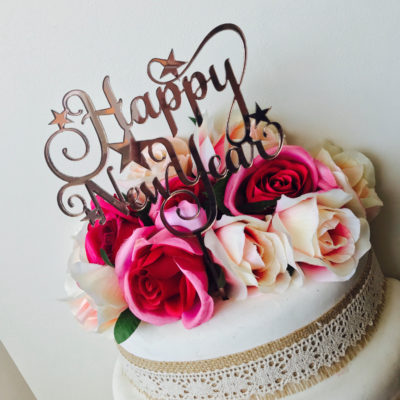Happy New Year Cake Decoration Pictures Designs Images Wishes 2018