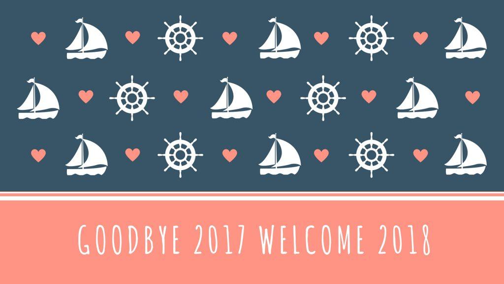 Good Bye 2017 Welcome 2018 WhatsApp Facebook Status Post Timeline
