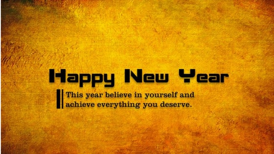 Happy New Year Inspirational Wishes Quotes | Messages | Cards