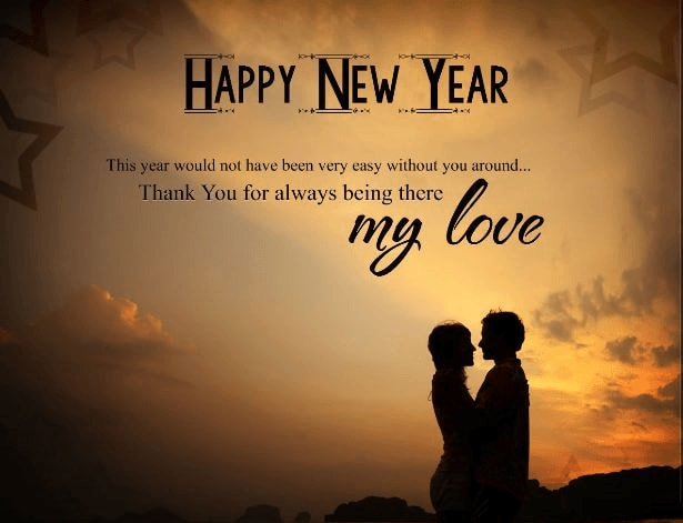 New Year Wishes Messages for Boyfriend