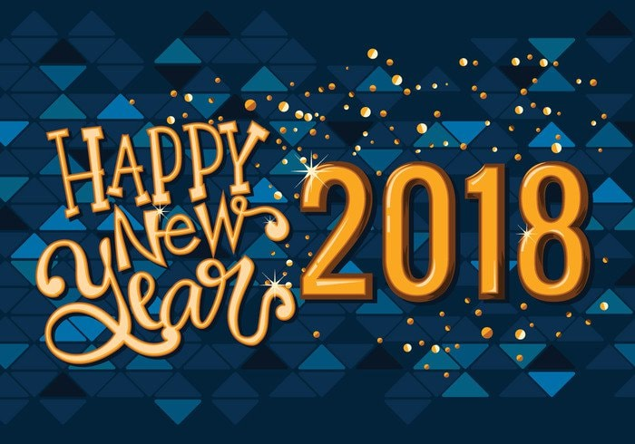 Happy New Year Facebook Status Updates For 2018