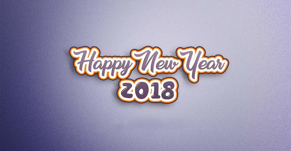 Happy New Year Whatsapp wallpapers 2018