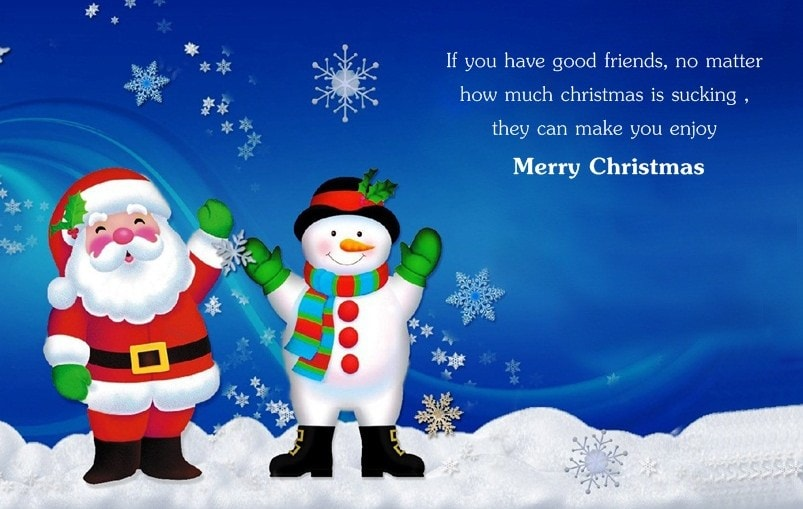 Funny Christmas Wishes for Friends