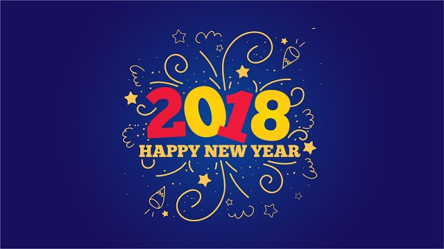 Happy New Year Facebook Profile Picture 2018
