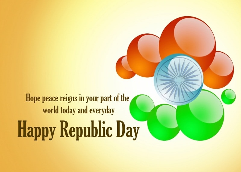 Republic day Wishes in Hindi for Whatsapp 2018