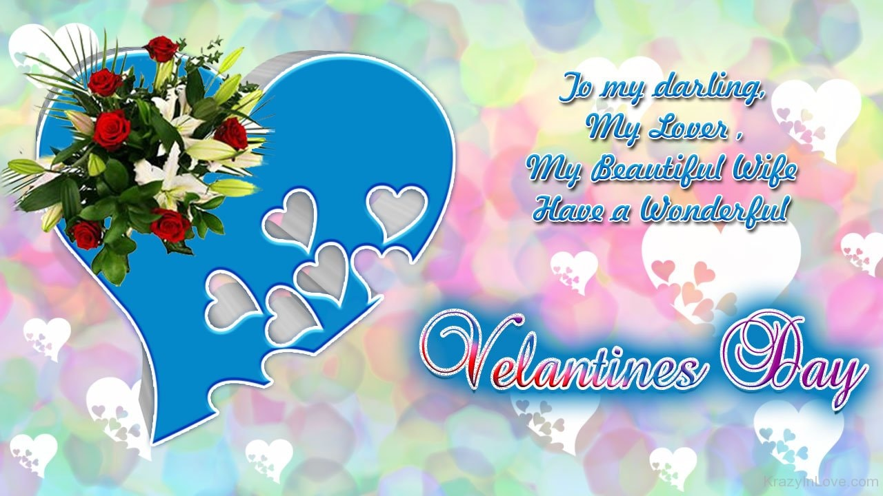 Valentine's Day Wishes for Girlfriend Images 2018