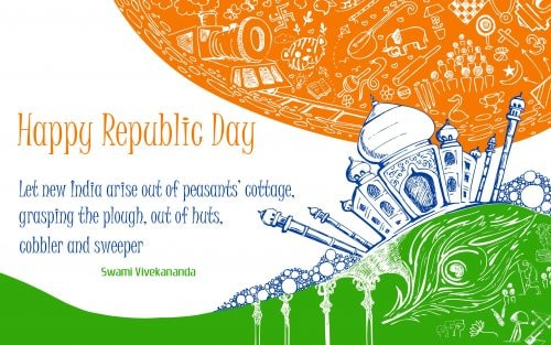 Happy Republic Day WhatsApp Status for 2018