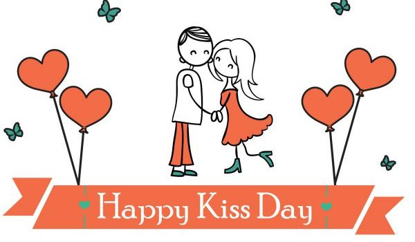 Happy Kiss Day Lines for Girlfriend for 2018