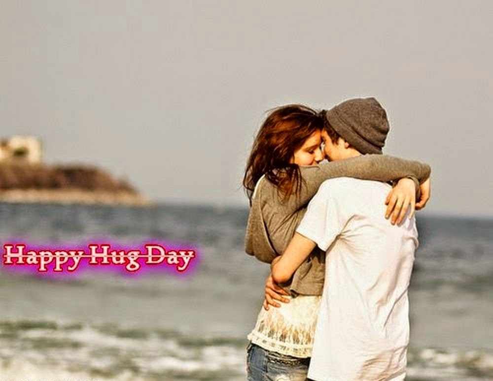 Happy Hug Day Two Line Shayari Status Messages Text Quotes for Girlfriend