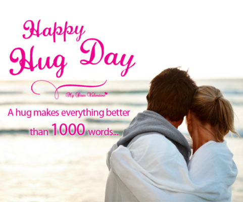 Happy Hug Day Quotes for Girlfriend in Hindi for 2018 | Hindi Font | Romantic