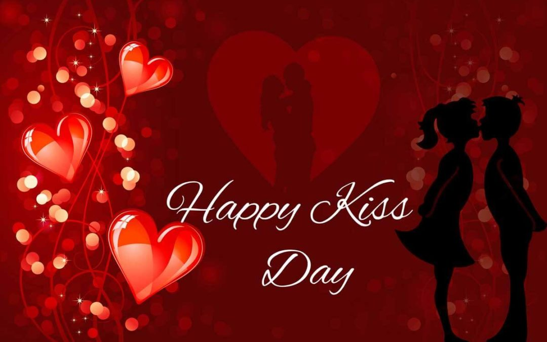 Happy Kiss Day 3d Images Wallpaper Pic Animations Graphics Scraps Sparkling