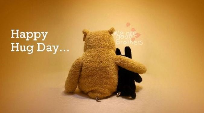 Happy Hug Day Wallpapers for Girlfriend Boyfriend Wallpaper 2018|Couple Images