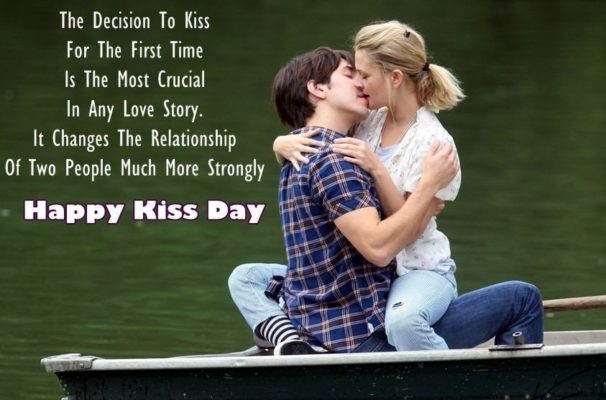Happy Kiss Day Wishes for Girlfriend in Hindi | SMS | Shayari | Messages | Quotes | 140 Words