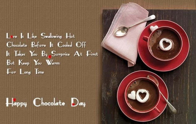 Happy Chocolate Day Quotes for Girlfriend for 2018 | Lovely | Sweet | Romantic