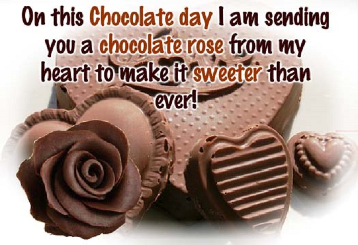Happy Chocolate Day Facebook Status for 2018 | Funny | Girlfriend | Wife