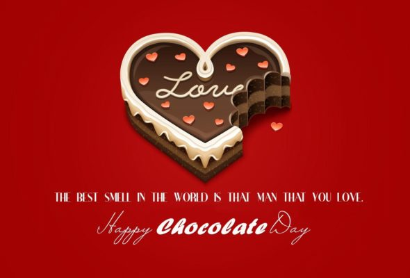 Happy Chocolate Day Poem for Girlfriend for 2018 | Short and Romantic