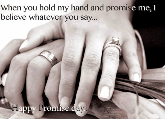 Happy Promise Day Quotes for Girlfriend for 2018 | Best | Wishes | Romantic
