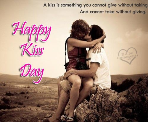 Kiss Day Poem for Girlfriend & Boyfriend for 2018