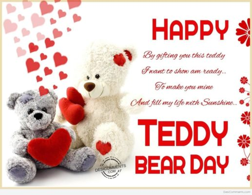 Teddy Day Wishes for Girlfriend in Hindi for 2018 | SMS | Quotes | Messages